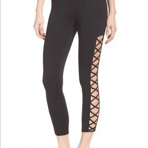 Zella lace up high waist midi leggings  🏋️♀️